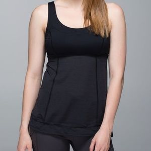 Lululemon Run: Ta Ta Topper Tank Top Cinch Bottom